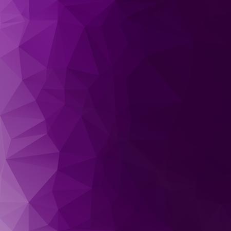 퍼플 다각형 모자이크 배경, 크리 에이 티브 디자인 템플릿