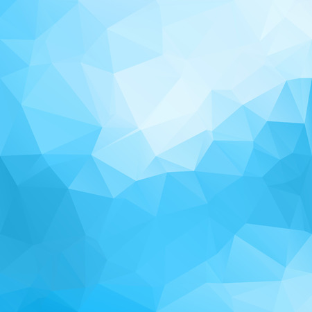 블루 다각형 모자이크 배경, 크리 에이 티브 디자인 서식 파일
