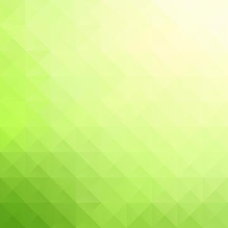 녹색 격자 모자이크 배경, 크리 에이 티브 디자인 템플릿