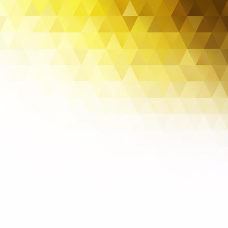 노란색 격자 모자이크 배경, 크리 에이 티브 디자인 템플릿