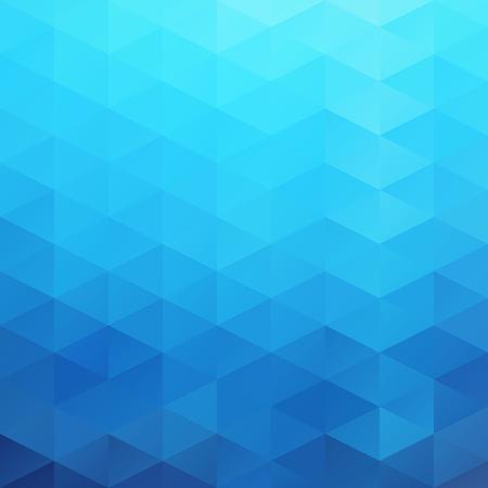 파란 격자 모자이크 배경, 창조적 인 디자인 템플렛
