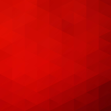 Red Grid Mosaic Background, Creative Design Templates Illustration