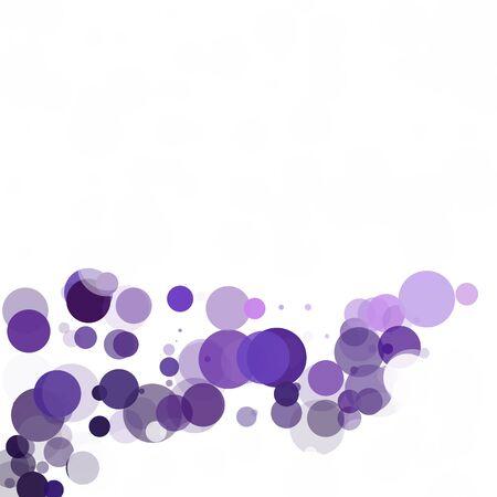 Bubbles Unique Purple Bright Vector Background Illustration
