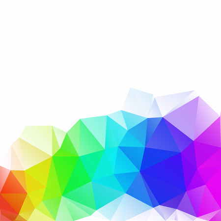 Colorful Polygonal Mosaic Background, Creative Design Templates