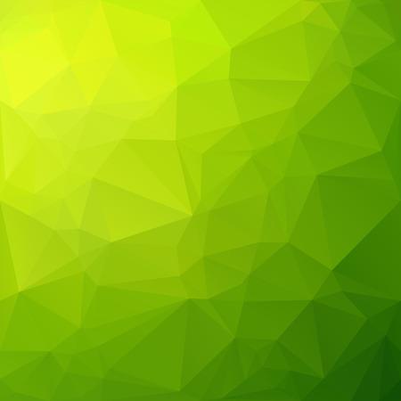 녹색 다각형 모자이크 배경, 크리에이티브 디자인 템플릿
