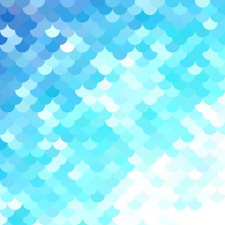 Blue Roof tiles pattern, Creative Design Templates
