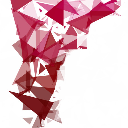 Red Break Mosaic Background, Creative Design Templates