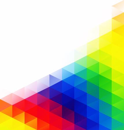 다채로운 격자 모자이크 배경, 크리 에이 티브 디자인 템플릿