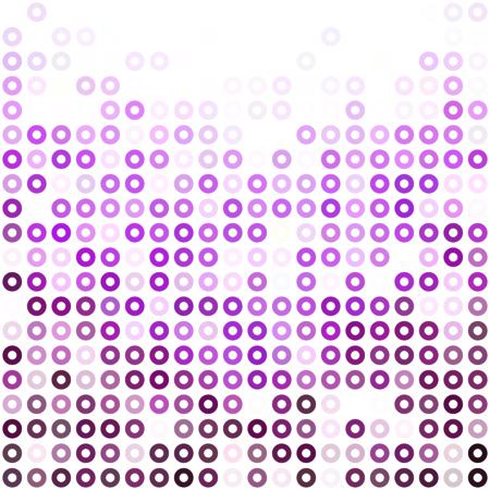 Sfere di ciambelle viola, modelli di progettazione creativa