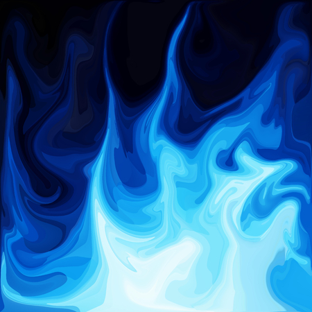 Blue Digital Acrylic Color Swirl Or Similar Marble Twist Texture Background