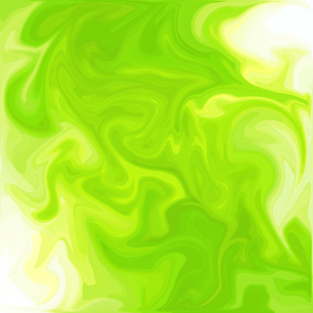 Green Digital Acrylic Color Swirl Or Similar Marble Twist Texture Background