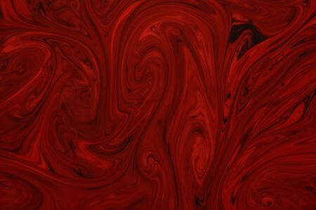 Liquify Swirl Red Color Art Abstract Pattern,Creative design templates for product smartphone web and mobile applications Stock fotó - 129260794