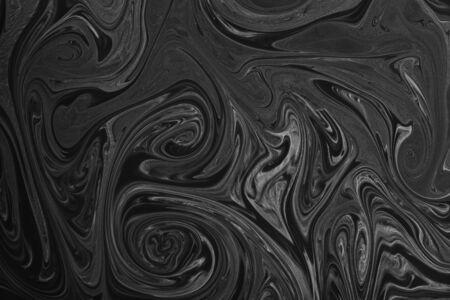 Liquify Swirl Blue Color Art Abstract Pattern Creative Design
