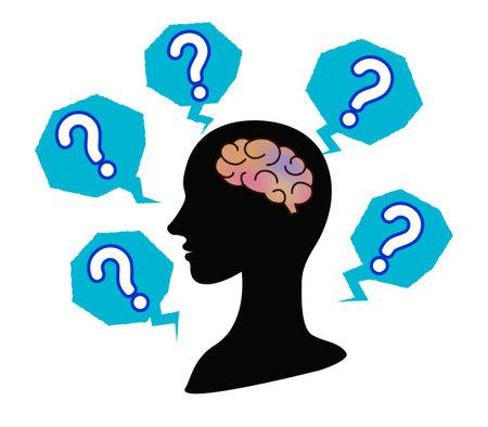 Forgetful person's brain and dementia