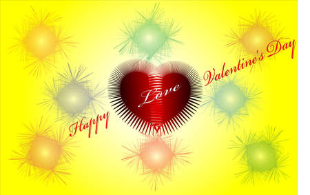 This photo can be used as a greetings card of valentine Stock Photo - 13165956