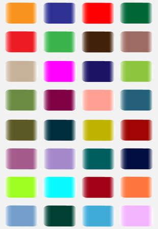 C'est une collection de quelque autocollant color� Il peut �tre utilis� pour marquer quoi que ce soit Illustration