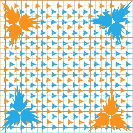 It is photo of a background design Stock Vector - 18302448