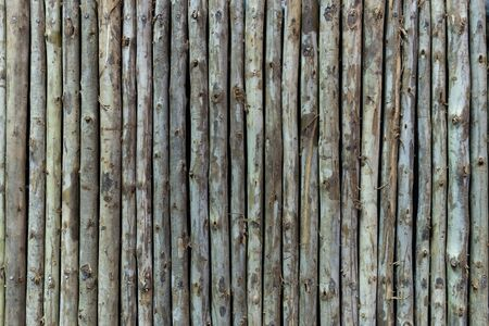 Houten stokken textuur achtergrond Stockfoto