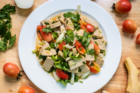 Spicy Vietnamese Sausage Salad