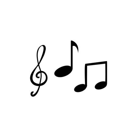 Illustration Vector graphic of music icon. Fit for tone, melody, audio, disco etc.