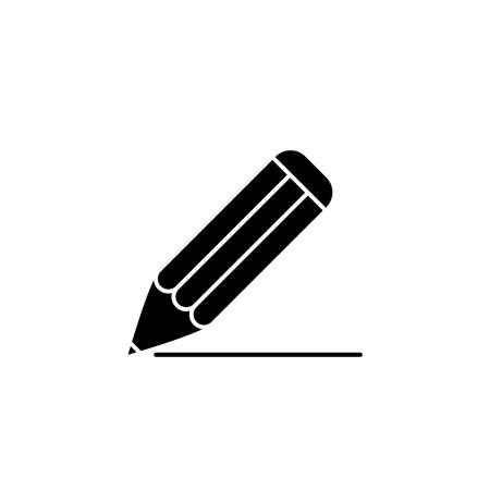Illustration Vector graphic of pencil icon. Fit for education, draw, tool, student etc.