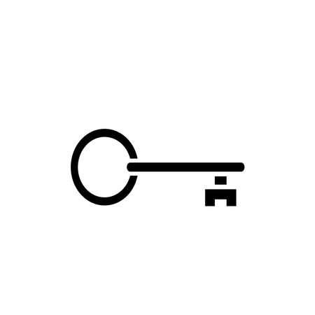 Illustration Vector graphic of key icon. Fit for safe, security, access, password, protect etc.