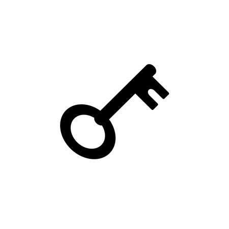 Illustration Vector graphic of key icon. Fit for safe, security, access, password, protect etc. Vectores