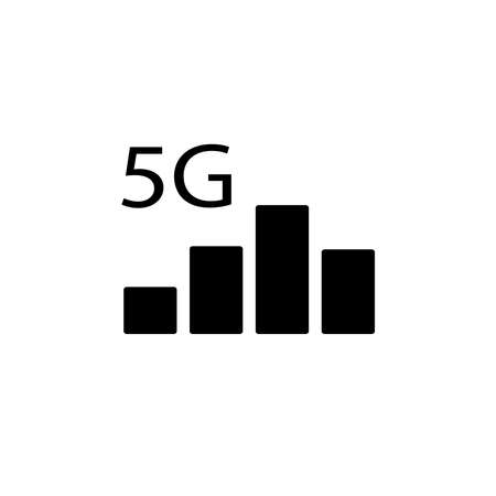 Illustration Vector graphic of signal bar icon. Fit for technology, mobile, wifi, network, connection etc.
