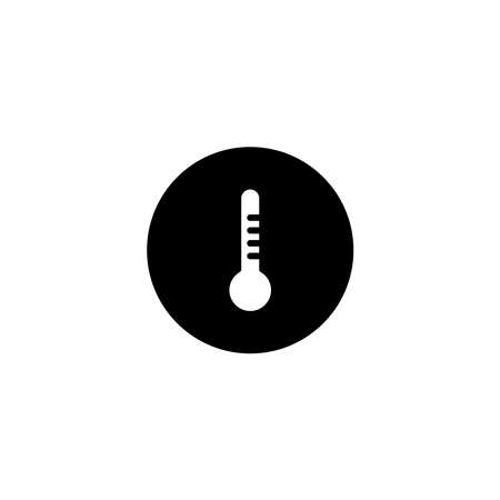 Illustration Vector graphic of thermometer icon. Fit for temperature, season, measure etc. Illustration