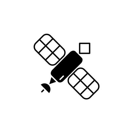 Illustration Vector graphic of satellite icon. Fit for communication, sign, connection, symbol, technology, space, internet, wireless etc. Reklamní fotografie - 151244852