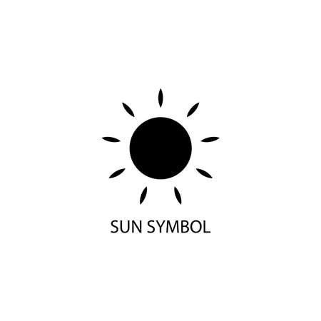 Illustration Vector graphic of Sun icon. Fit for weather, sunrise, climate etc.