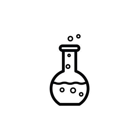 Illustration Vector graphic of chemistry icon. Fit for chemical, science, laboratory etc. Ilustracja