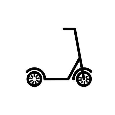 scooter icon, illustration design template Illustration