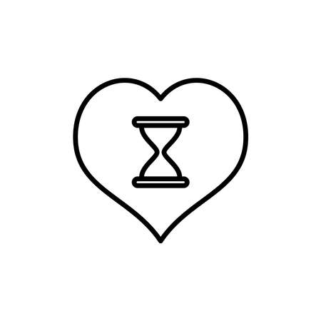 Illustration Vector graphic of hourglass icon. Fit for clock, watch, countdown, deadline etc. Ilustrace