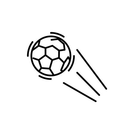 Illustration Vector graphic of soccer ball icon. Fit for football, sport, team, game, league, match etc.