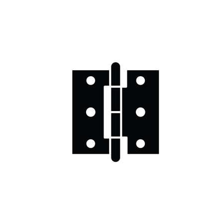Illustration Vector graphic of hinge icon. Fit for door repair, mechanism, furniture etc.