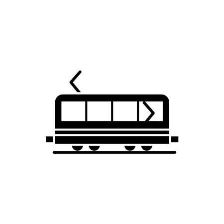 Illustration Vector graphic of train icon. Fit for transportation, subway, railway etc. Ilustracje wektorowe