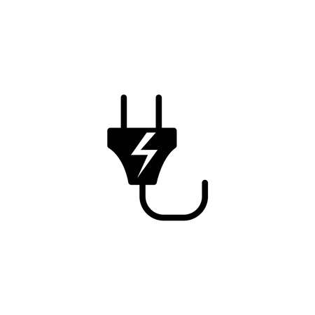 Illustration Vector graphic of power plug icon. Fit for electric, socket, cable etc. Vektoros illusztráció
