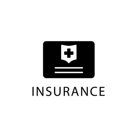 Illustration Vector graphic of insurance icon template