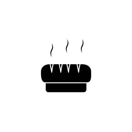 Illustration Vector graphic of bread icon template