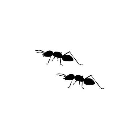 Illustration Vector graphic of ant icon template