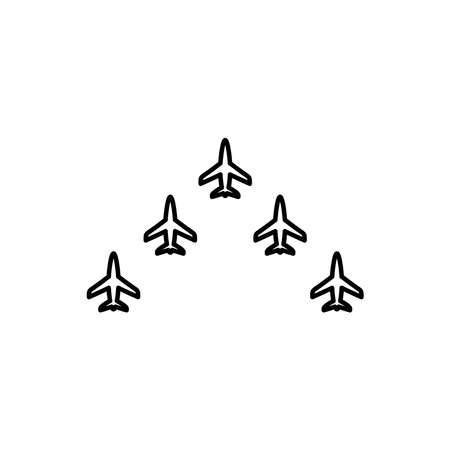 Illustration Vector graphic of plan formation icon