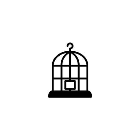 Illustration Vector graphic of birdcage icon