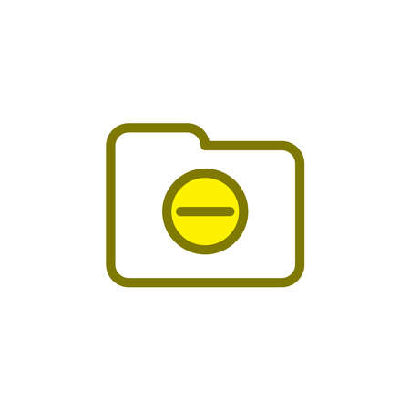 Illustration Vector graphic of folder icon. Fit for document, file, archive, portfolio etc.
