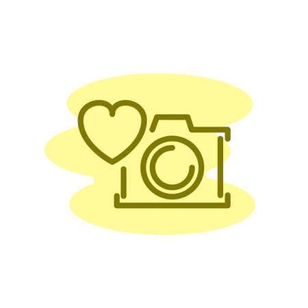 Illustration Vector graphic of photography icon. Fit for studio, photograph, image etc.