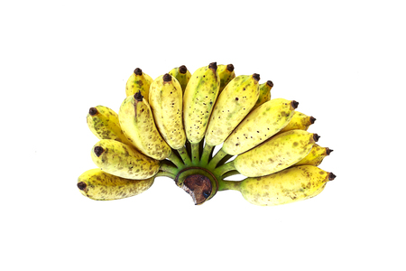 Banana fruit is rich in vitamins and nutrients.