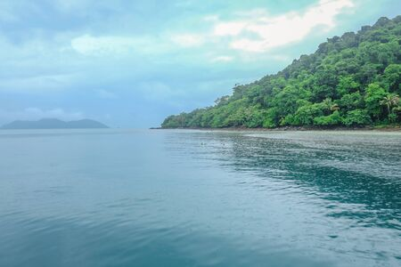 Beautiful Tropical Beach and Koh Wai island in Trat Thailand,Thailand Holiday