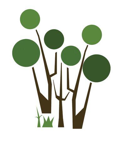 Abtract Tree Logo Stock Photo - 11112053