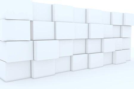 ebox: 3D casella vuota per gli sfondi. Archivio Fotografico