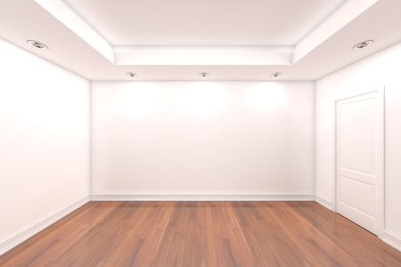 La Representación Interior De Una Casa Con Pared Vacía Sala De Color ...